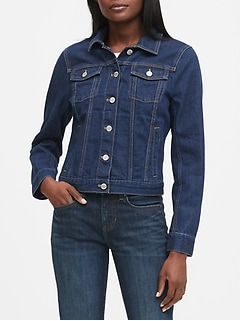 Petite Denim Trucker Jacket