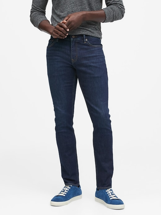 Skinny Rapid Movement Denim Jean with COOLMAX® Technology