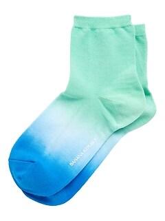 Ombré Ankle Sock