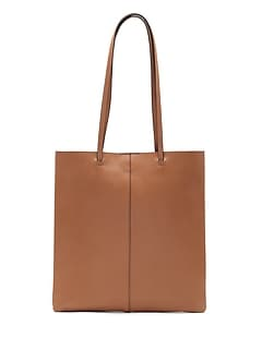 Leather Effortless Tote