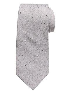 Speckle Silk-Blend Tie