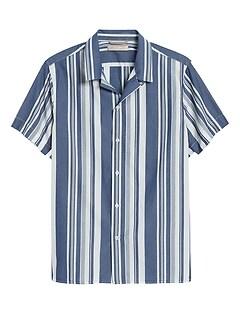 Heritage Slim-Fit Camp Shirt