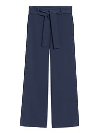 High-Rise Wide-Leg Performance Pant