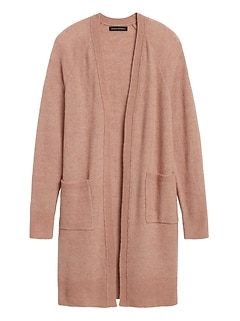 Petite Aire Duster Cardigan Sweater