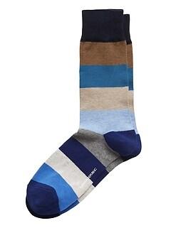 Rugby Stripe Sock