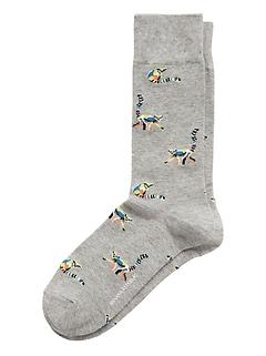 Lemur Sock