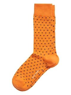 Four Dot Cluster Sock