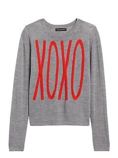 Petite Xoxo Sweater