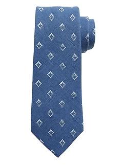Indigo Neat Nanotex® Tie