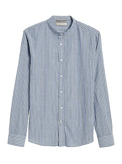 Heritage Slim-Fit Crinkle Cotton Shirt
