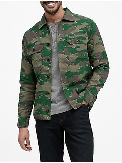 Camo Coach's Jacket