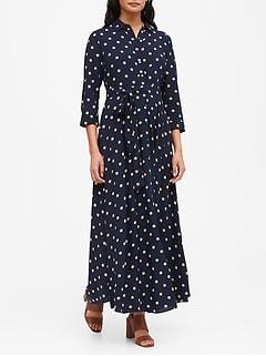 ECOVERO™ Maxi Shirt Dress