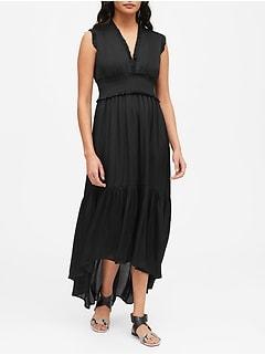 Soft Satin Maxi Dress