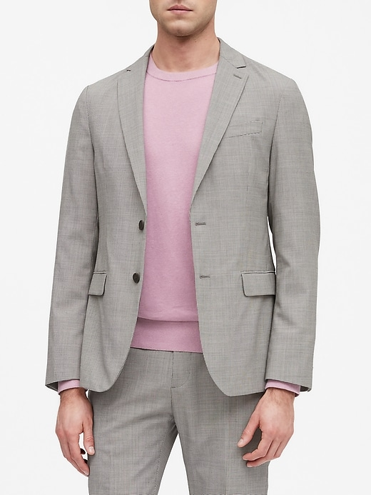 Slim Smart-Weight Performance Suit Jacket with COOLMAX® Technology