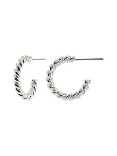 Thin Line Hoop Earrings