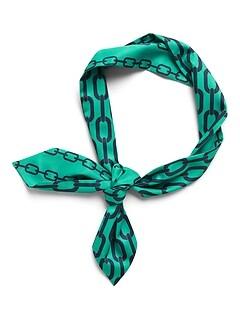 Chain Print Reversible Neckerchief