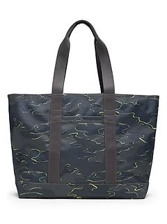 Camo Large Tote Bag