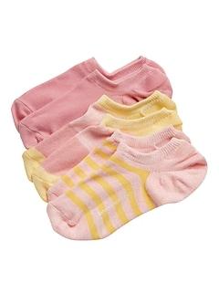 Chaussettes basses pour espadrilles (paquet de3paires)