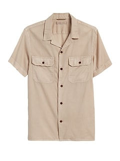 Heritage Slim-Fit Resort Shirt