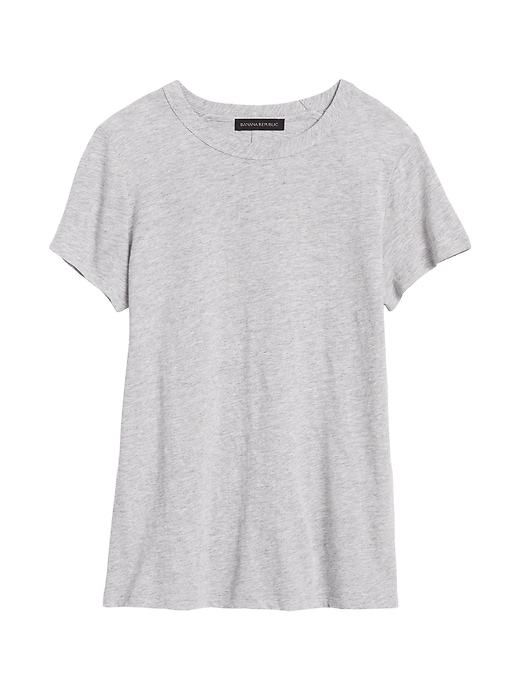 Slub Cotton-Modal Crew-Neck T-Shirt