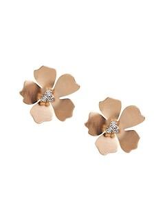 Large Flower Stud Earrings