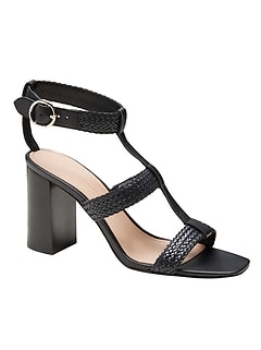 High Block-Heel Sandal