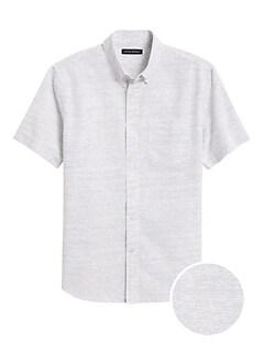 Slim-Fit Luxe Poplin Shirt