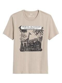 Heritage Giraffe Graphic T-Shirt
