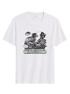 Heritage Fish Graphic T-Shirt