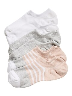 Neutral No-Show Sneaker Sock 3-Pack
