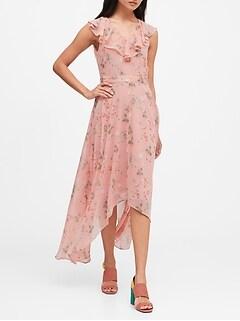 Ruffle Maxi Dress