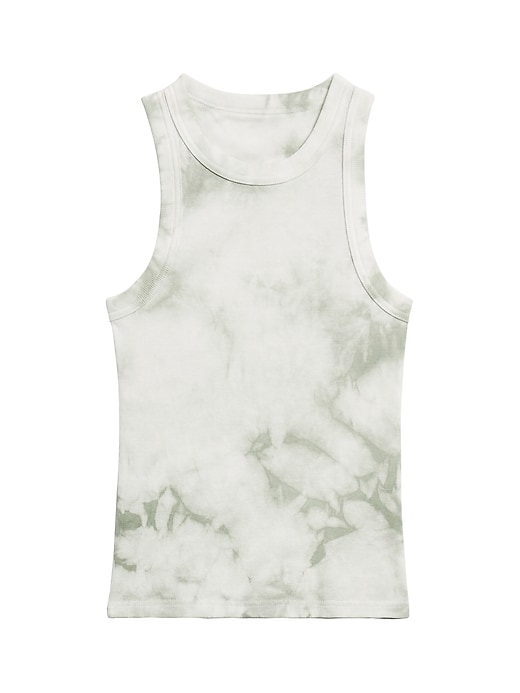 Fitted Tie-Dye Ribbed Tank