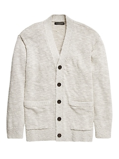 Relaxed Cardigan Sweater