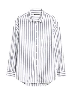 Oversized Luxe Poplin Shirt