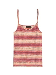 Ombré Stripe Sweater Tank