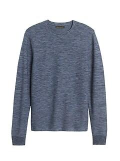 Organic Cotton Crew-Neck Sweater