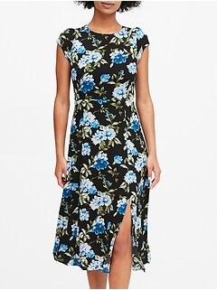 Petite ECOVERO™ Midi Dress
