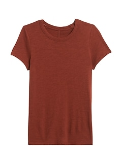 Slub Cotton-Modal Crew-Neck T-Shirt