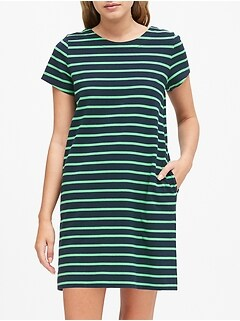 Stripe T-Shirt Mini Dress