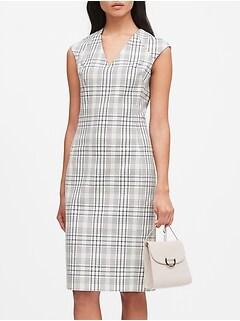 Petite Bi-Stretch Sheath Dress