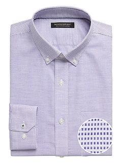 Chemise habillée sans repassage, coupe Camden standard