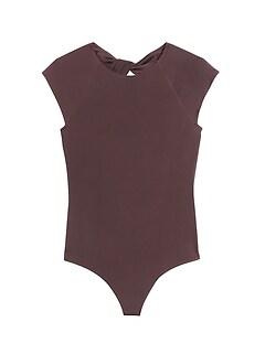 Twist-Back Thong Bodysuit