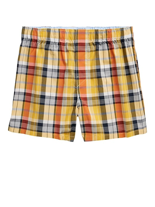 Plaid David Boxer