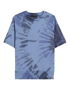Tie-Dye French Terry Sweatshirt