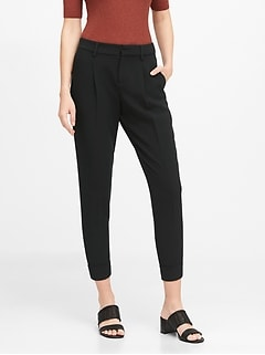 Petite High-Rise Tapered Pant