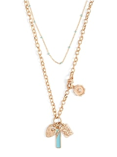 Vintage Charm Layer Necklace
