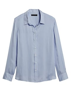 Petite Dillon Classic-Fit Shirt