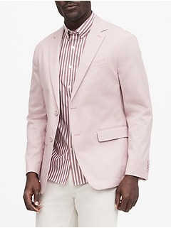 Slim Stretch-Cotton Suit Jacket