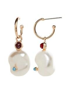 Pendants d'oreilles à perles