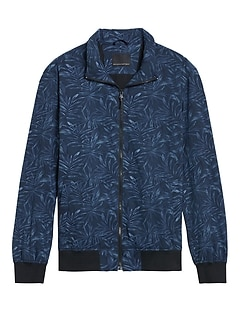 Motion Tech Perforated Bomber Jacket